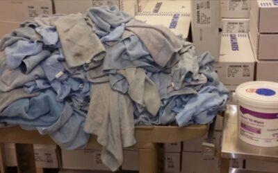 Disposable disinfectant wipes vs. Microfiber cloths